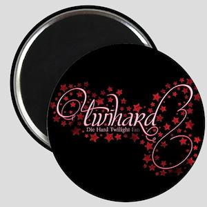 Pink Sparkly TwiHard Magnet