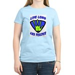 Live Long And Prosper Women's Light T-Shirt