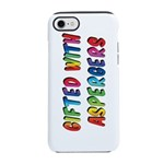 Gifted with Aspergers iPhone 7 Tough Case