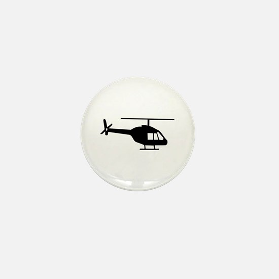 Helicopter Mini Button