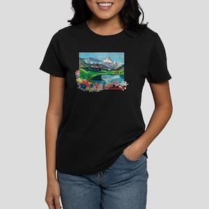 Swiss Beauty Women's Dark T-Shirt
