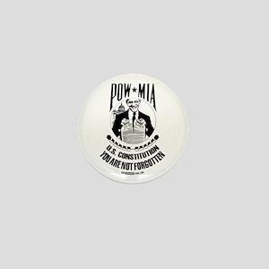 POW-MIA: U.S. Constitution Mini Button