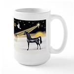 XmasDove/Horse (Ar-blk) Large Mug