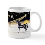 XmasDove/Horse (Ar-blk) Mug