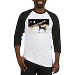 XmasDove/Horse (Ar-blk) Baseball Jersey
