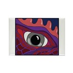 CREATURE VIEW #4 Rectangle Magnet