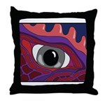 CREATURE VIEW #4 Throw Pillow