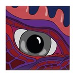 CREATURE VIEW #4 Tile Coaster