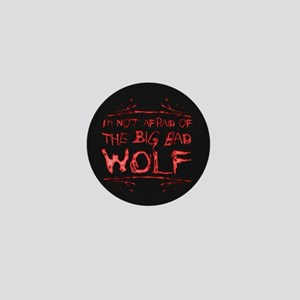 Big Bad Wolf Mini Button