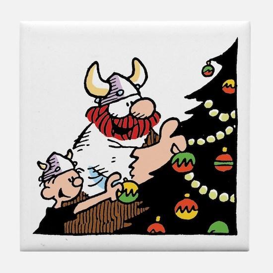 Funny Hagar the horrible Tile Coaster