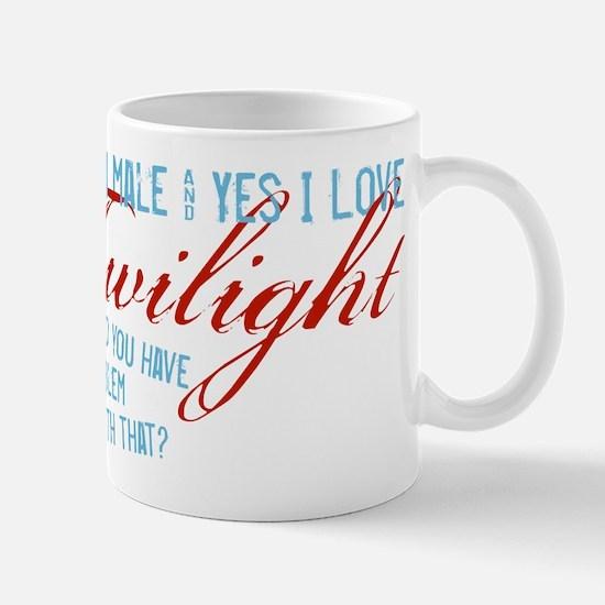Male Who Loves Twilight Mug
