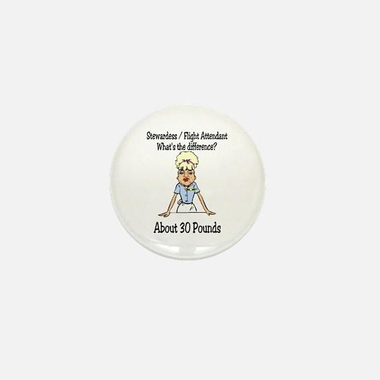 30 Pounds Mini Button