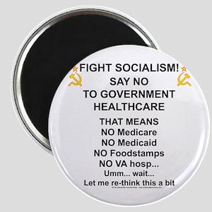 Socialism? Ok, I'll suffer. Magnet