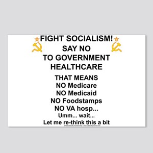 Socialism? Ok, I'll suffer. Postcards (Package of