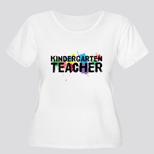 Kindergarten Teacher Women's Plus Size Scoop Neck