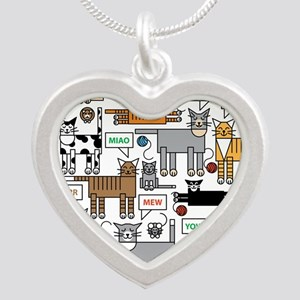 What Cats Say Necklaces