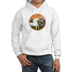 XmsFntsy/Horse (Ar-W) Hooded Sweatshirt