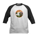 XmsFntsy/Horse (Ar-W) Kids Baseball Jersey