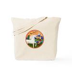 XmsFntsy/Horse (Ar-W) Tote Bag