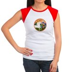 XmsFntsy/Horse (Ar-W) Women's Cap Sleeve T-Shirt