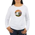 XmsFntsy/Horse (Ar-W) Women's Long Sleeve T-Shirt