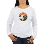 XmsFntsy/Horse (Ar-W) Women's Long Sleeve T-Shirt