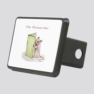 The Researcher Rectangular Hitch Cover