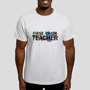 First Grade Teacher Light T-Shirt