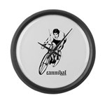 cannibal Large Wall Clock
