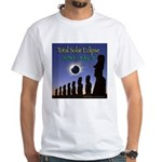 2010 Total Solar Eclipse 2 - White T-Shirt