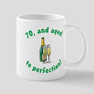 70, Aged To Perfection Mug