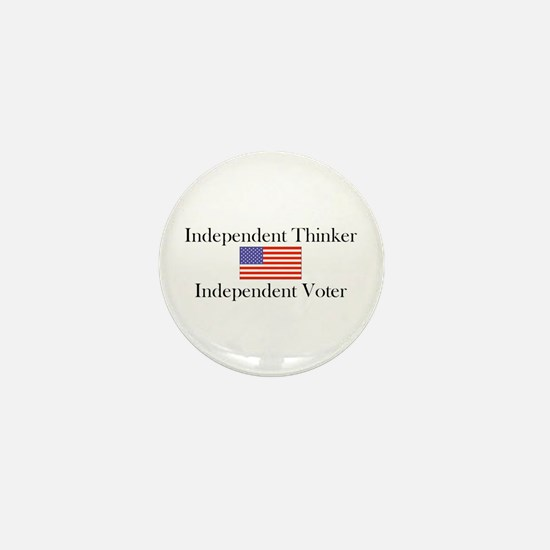Cute Independent Mini Button
