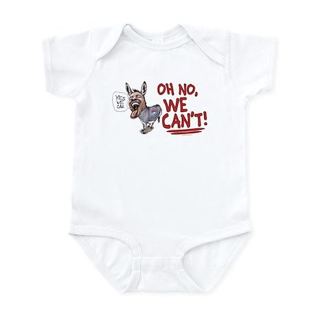 No We Can't Infant Bodysuit