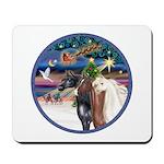 XmsMagic/3 Horses (Ar) Mousepad