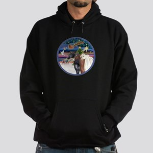 XmsMagic/3 Horses (Ar) Hoodie (dark)