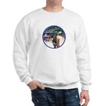 XmsMagic/3 Horses (Ar) Sweatshirt