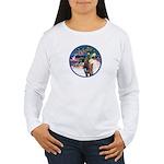 XmsMagic/3 Horses (Ar) Women's Long Sleeve T-Shirt