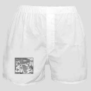 Medical Bill Cartoon Boxer Shorts