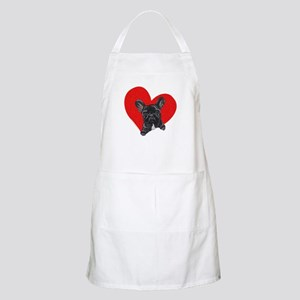 Black Frenchie Lover Apron