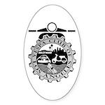 VCLA Oval Sticker