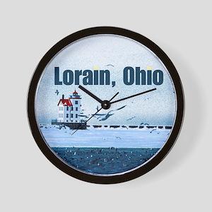 The Lorain, Ohio Wall Clock