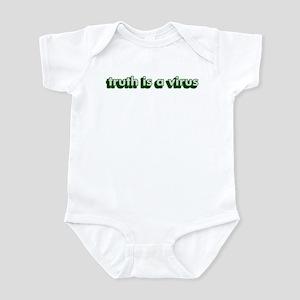 truth is a virus - Infant Bodysuit