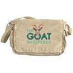 The Goat Whisperer Hipster Goat by GetYerGoat Mess
