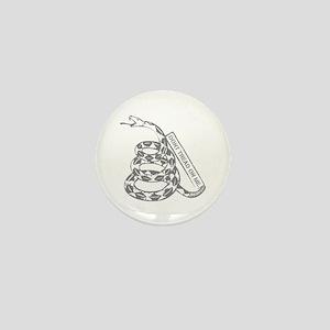 Cooper Snake DTOM (Gray) Mini Button