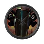 Road Rage Large Wall Clock