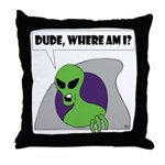 ALIENS and UFO's #1 Throw Pillow