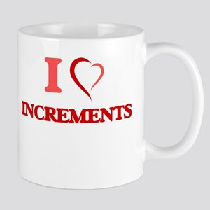 I Love Increments Mugs