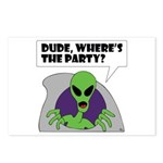 ALIENS and UFO's #2 Postcards (Package of 8)