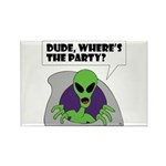 ALIENS and UFO's #2 Rectangle Magnet (100 pack)