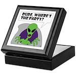 ALIENS and UFO's #2 Keepsake Box